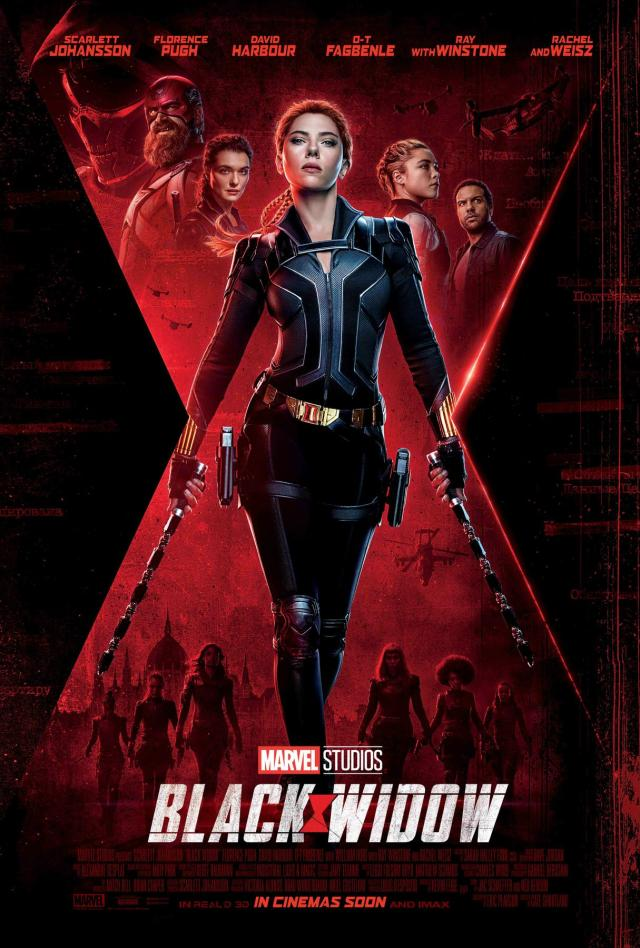 black widow intl eng domestic payoff one sheet 27x40
