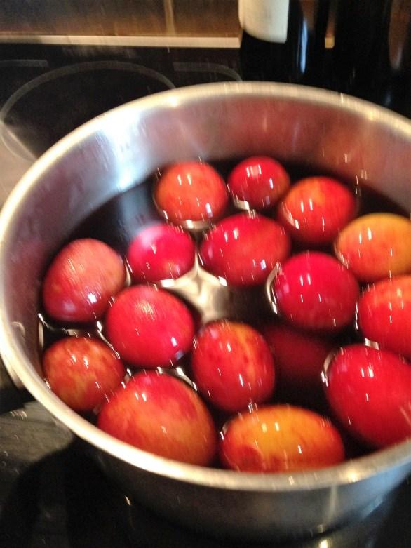 poaching plums