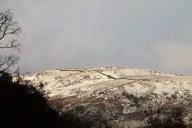 snow on potter fell