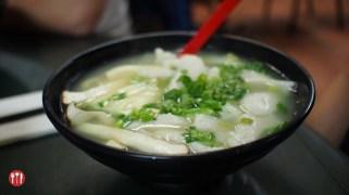 Egg Noodle in Original Fish Soup at Tao Garden Restaurant
