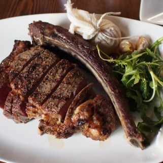 36oz Tomahawk Rib Eye at Modern Steak