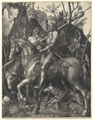Albrecht Dürer or Durer Knight, Death and Devil