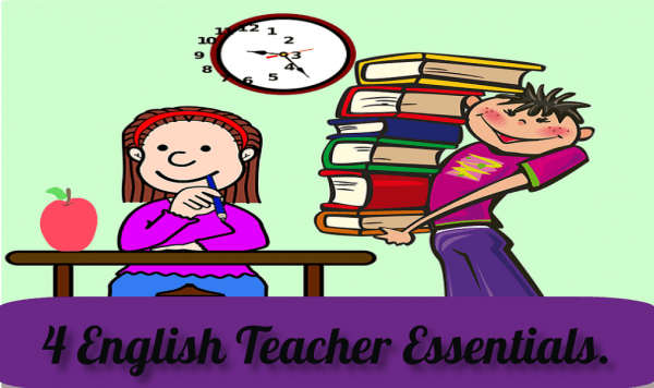 Things English teachers must do.