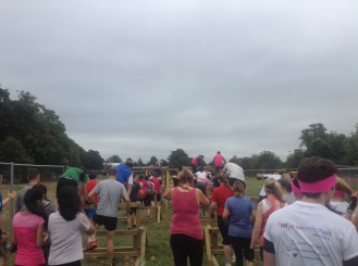 First obstacle