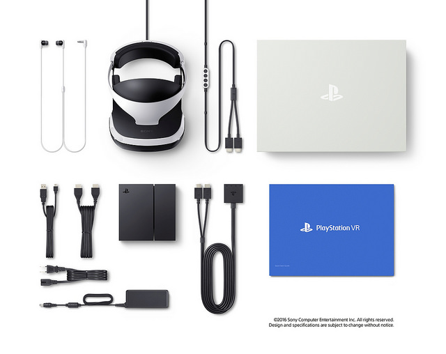 PS VR Components