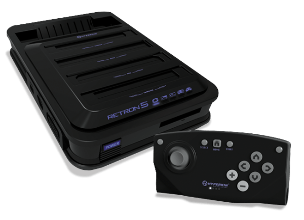 Retron 5, a new system capable of playing games from many different consoles