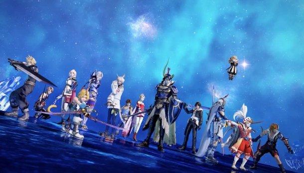 Dissidia Final Fantasy NT Roster