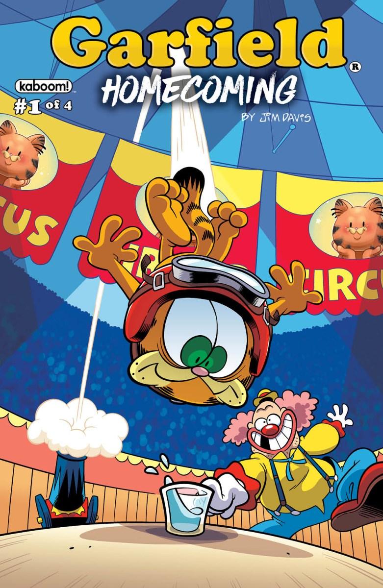 Garfield Homecoming 1 We The Nerdy