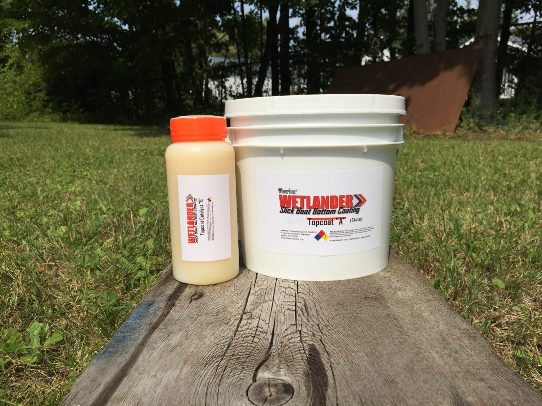 Wetlander topcoat, one gallon