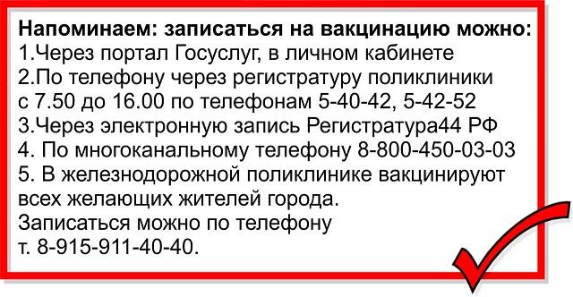 Главный инфекционист Костромской области рекомендует не откладывать с вакцинацией от коронавируса