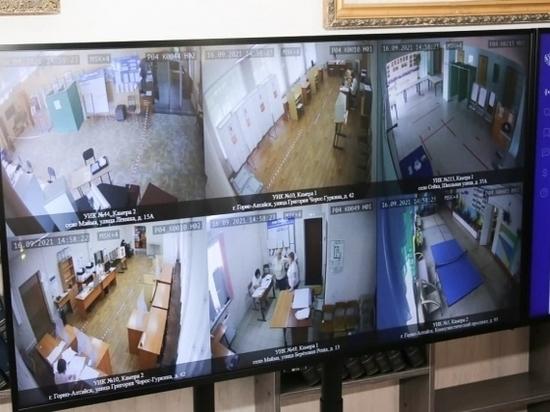 Видеокамеры непрерывно следили за ходом выборов в Костромской области