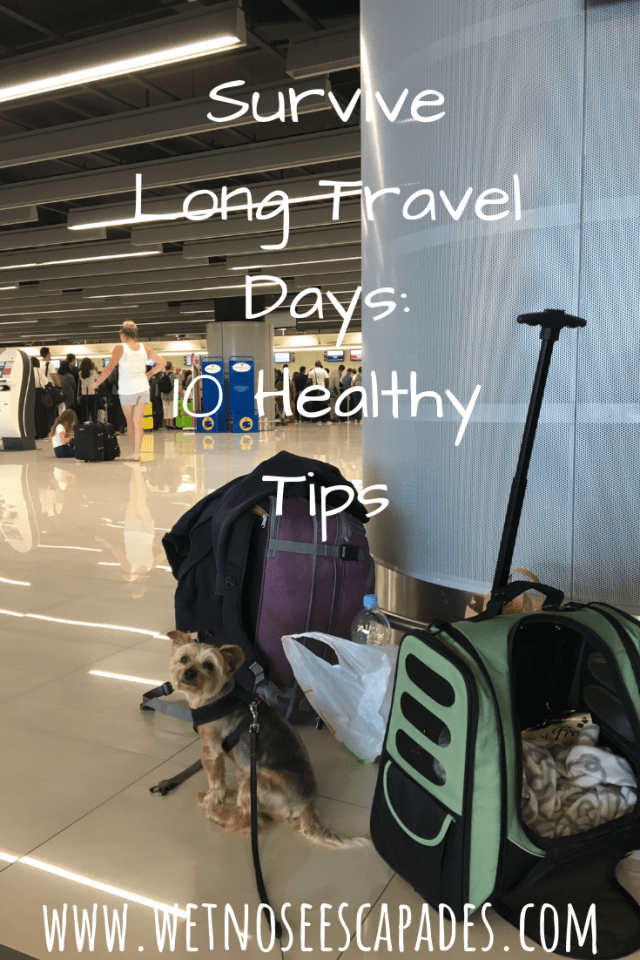 Survive Long Travel Days: 10 Healthy Tips