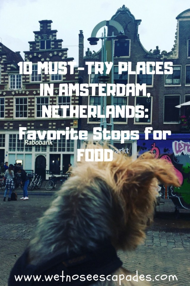 10 MUST-TRY PLACES IN AMSTERDAM, NETHERLANDS: Favorite Stops for FOOD