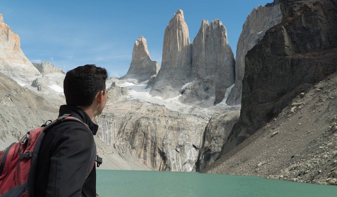 Nomadic Matt in Patagonia - traveling the world for free
