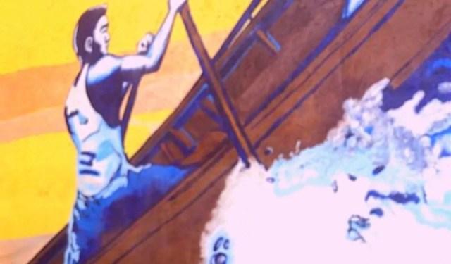 Hermosa Beach Art Murals - dog friendly