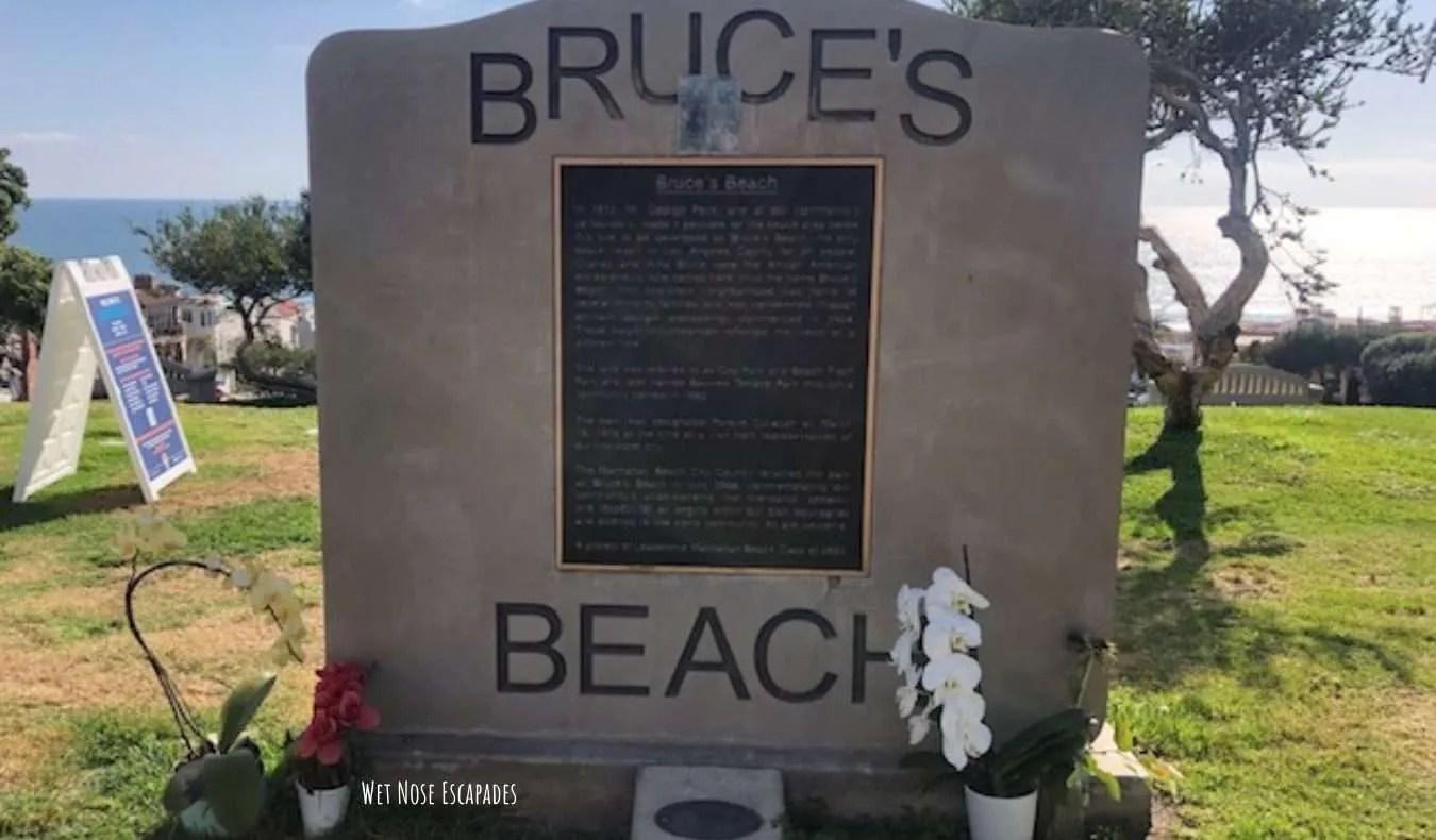 Dog friendly Bruce's Beach in Manhattan Beach
