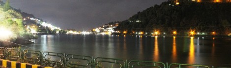 nainital in night