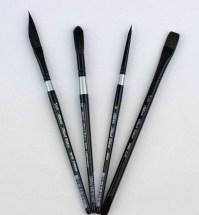 Silver Brush Black Velvet Custom Set