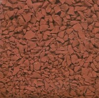 Red Wet Pour RUbber Granules