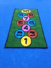 astro mat hopscotch in playground