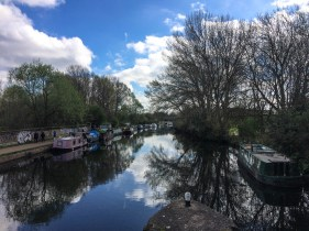 Canal along the Lee Valley