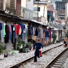 We travel in Love - Hanoi Train Street