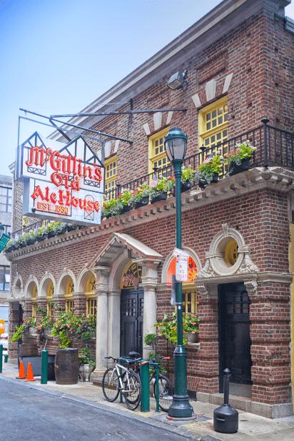 Best Places to Eat in Philadelphia Pennsylvania Irene Levy Baker McGillans Old Ale House exterior ThomasRobertClarkePhotography