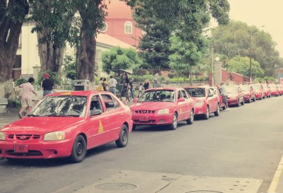 Für 50.000 Einwohner gibt's immer ein Taxi