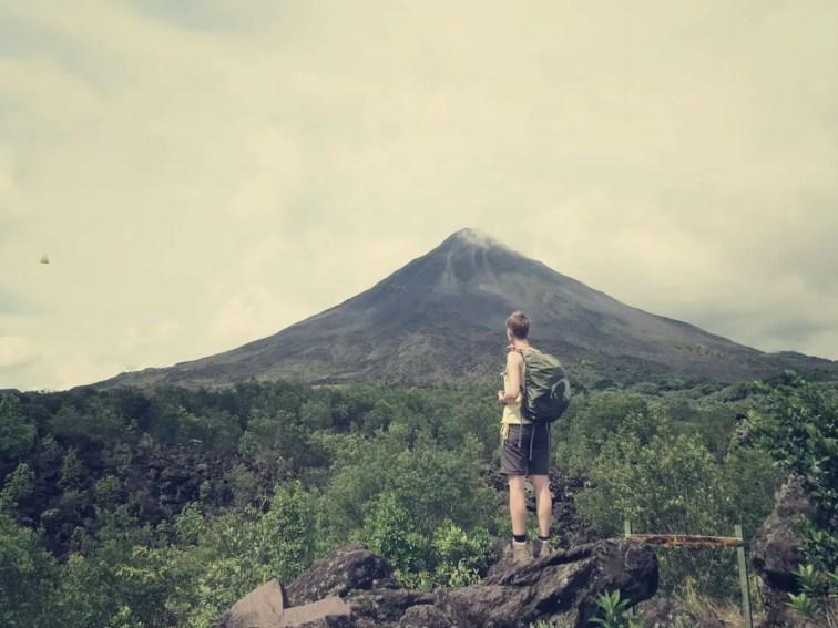 "Die ""dunkle Seite"" des Volcán Arenal"