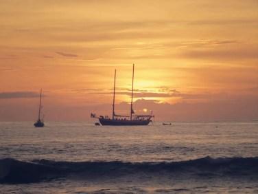 Sonnenuntergang am Playa Tamarido