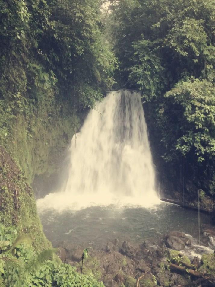 Auf dem Rückweg kamen wir beim Wasserfall Caratatas vorbei