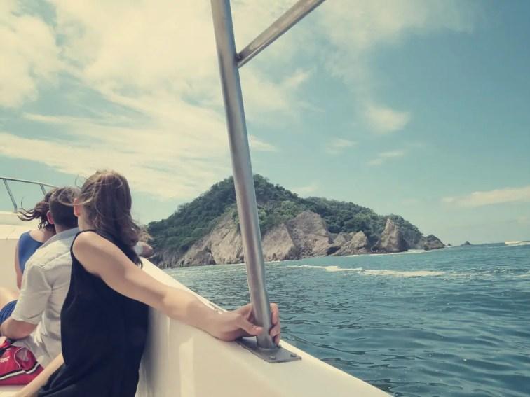 Erster Blick auf die Isla Tortuga