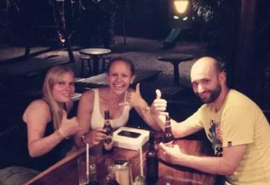Das Wiedersehen von Patricia & Nina haben wir im La Baula gefeiert