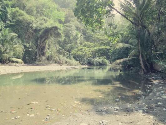 Zweite Flussüberquerung - Rio Madrigal