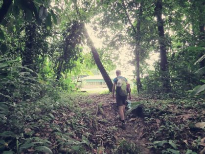 Immer wieder erfreulich nach einem Trail die Station La Sirena zu entdecken