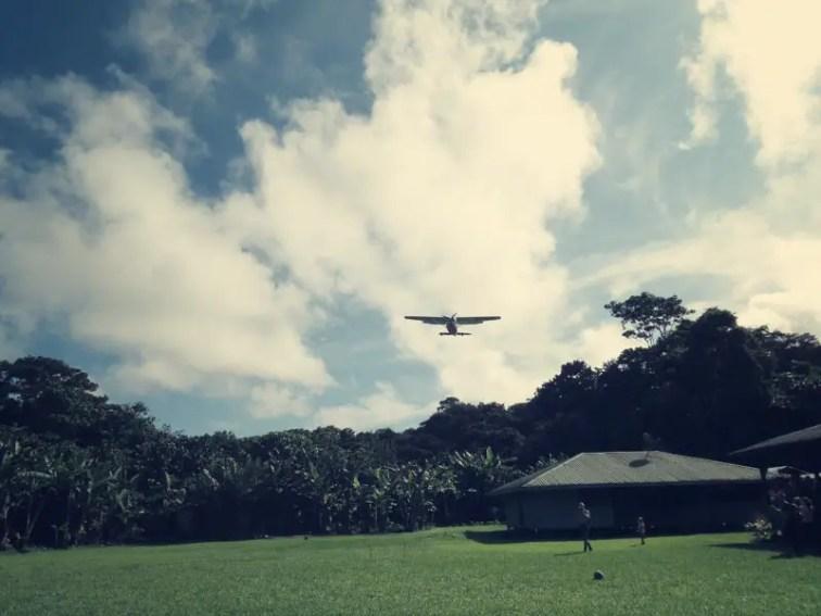 Der Flieger kommt