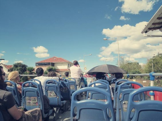 Blöde Bustouris auf der blöden Bustour :-)