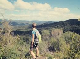 Blick über das Kauaeranga Valley