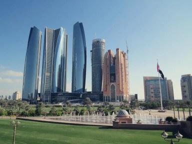Blick vom Palace Hotel