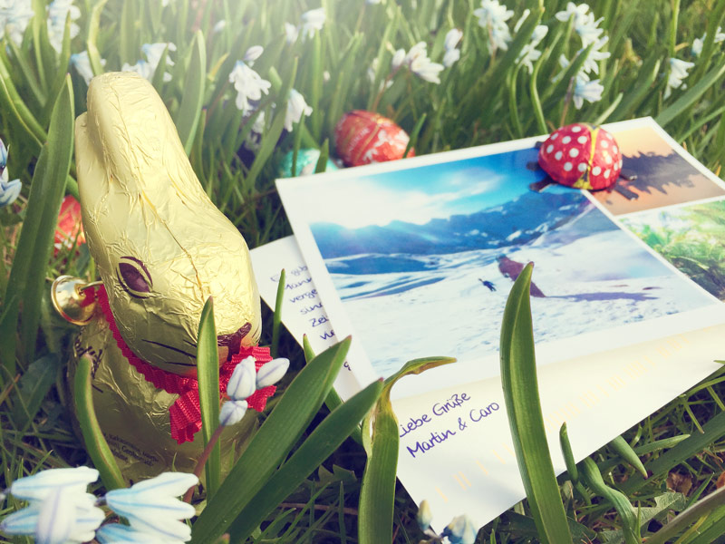 ostern my postcard