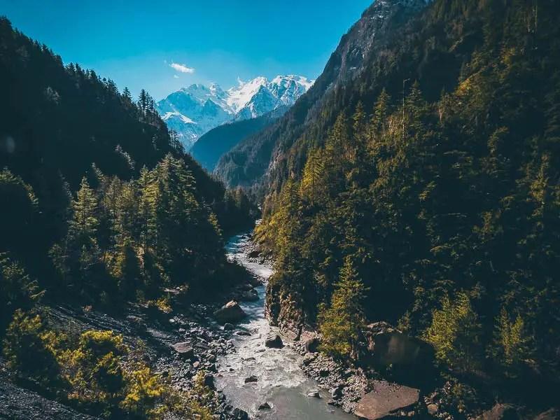 Annapurna Circuit Landschaft