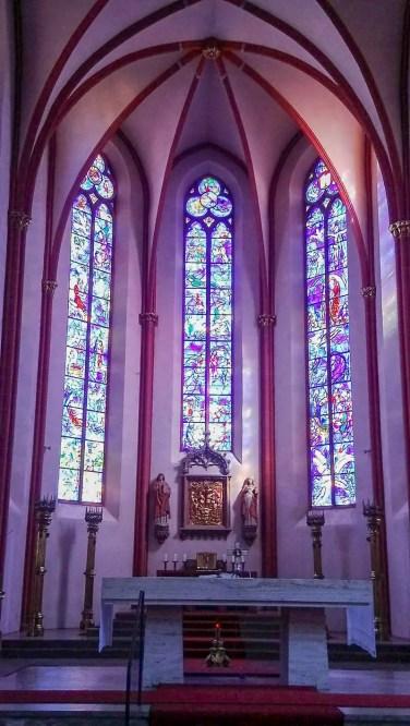 Chagall Fenster Mainzer Stephanskirche