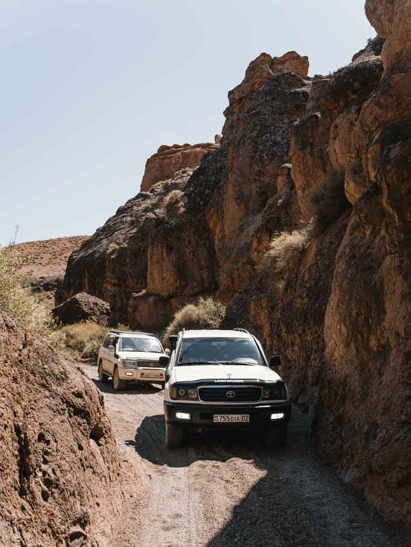 Charyn Canyon Kasachstan Tipps