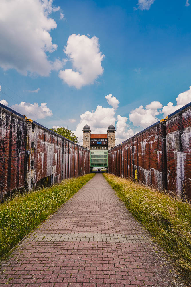 Fietstocht Ruhrgebied - sluispark
