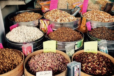 Erbsen, Bohnen, Linsen, Amman, Jordanien