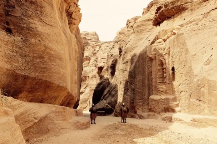 Eingang zum Siq, Petra, Jordanien