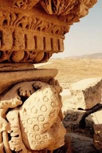 Römische Steinmetzkunst, Gerasa, Jordanien