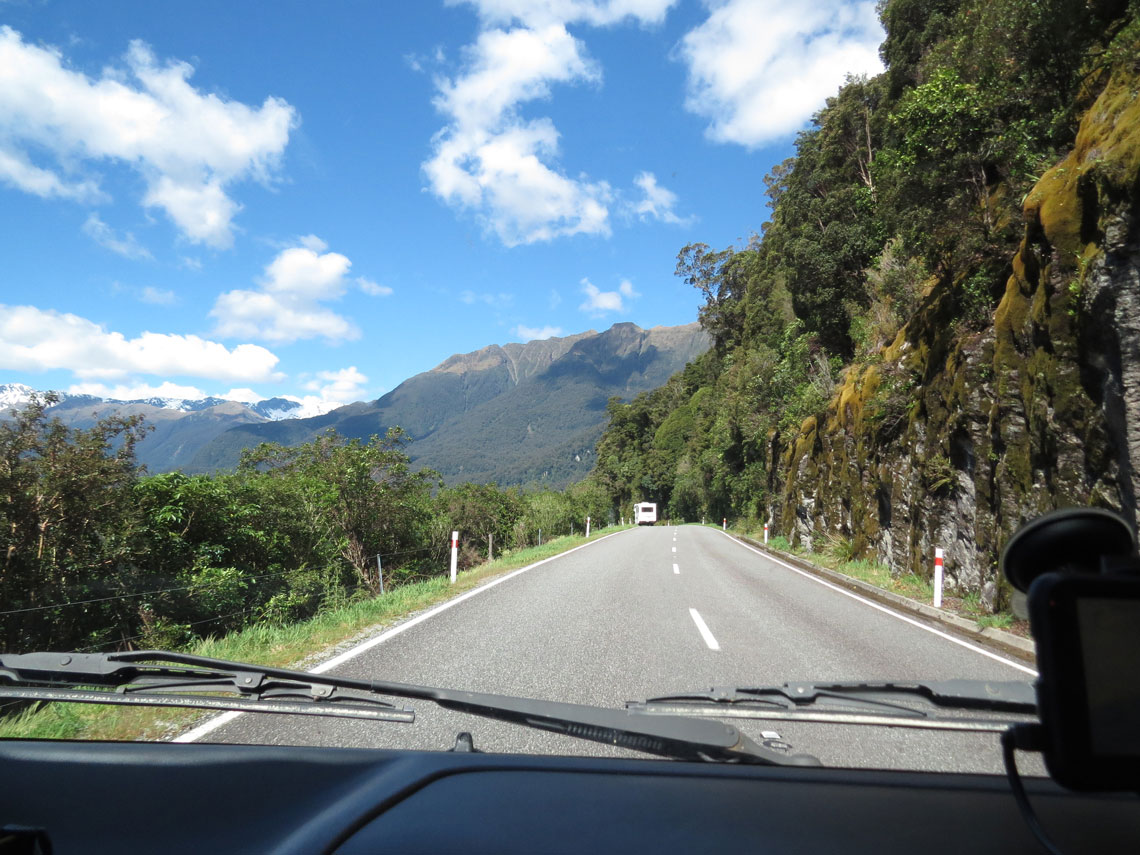 Fahrt nach Wanaka