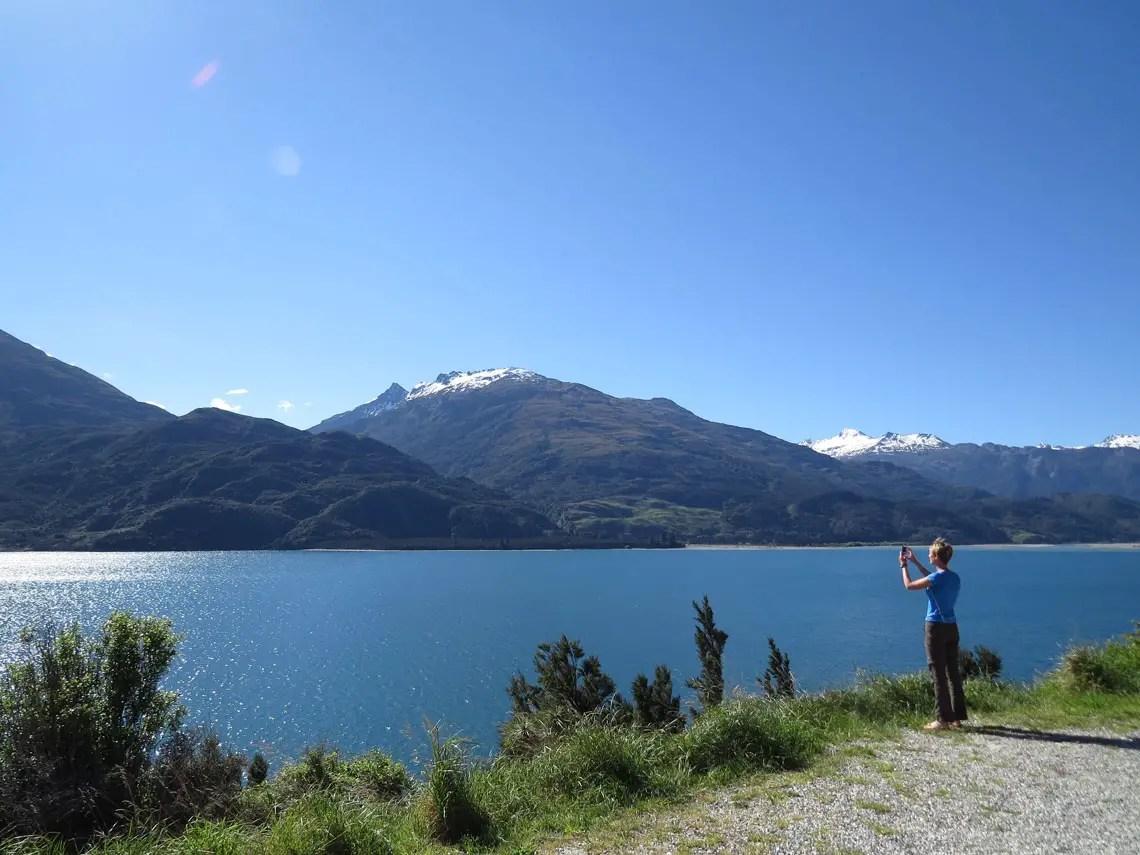 Am Lake Wanaka Neuseeland