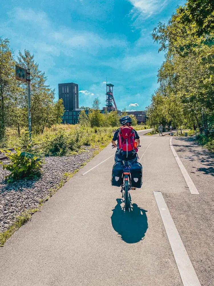 Fietstocht Ruhrgebied - route